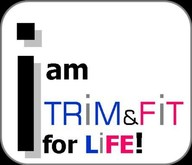 I am trim and fit for life logo